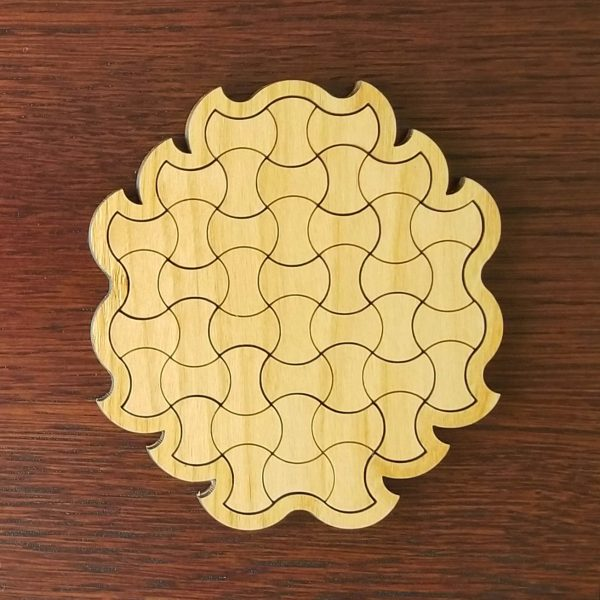 Knit Pagoda Puzzle