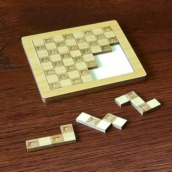 Checker Bored Puzzle