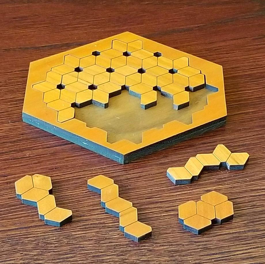 PentaHexEdges Puzzle