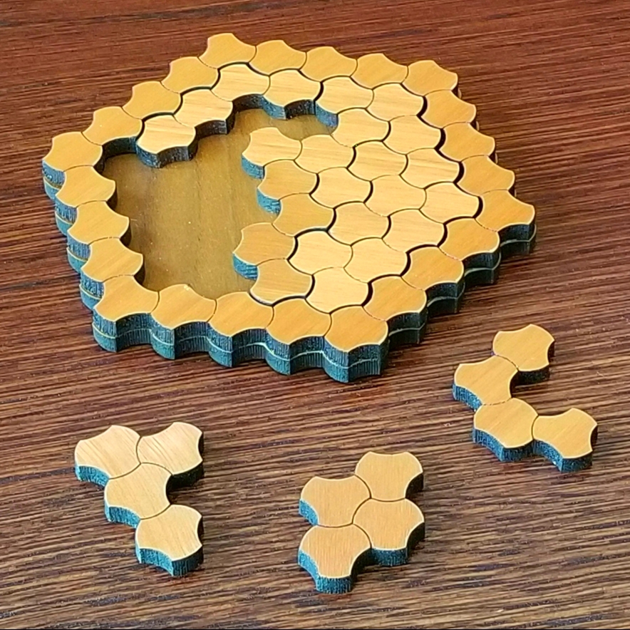 TetraScales Puzzle