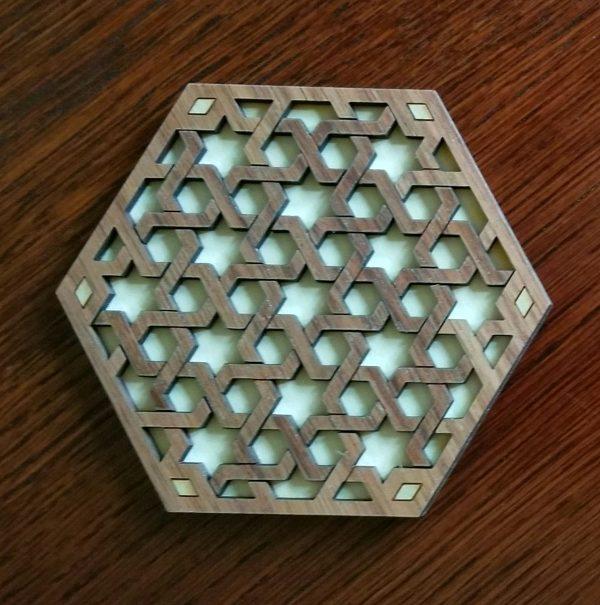 Interlace Star Puzzle